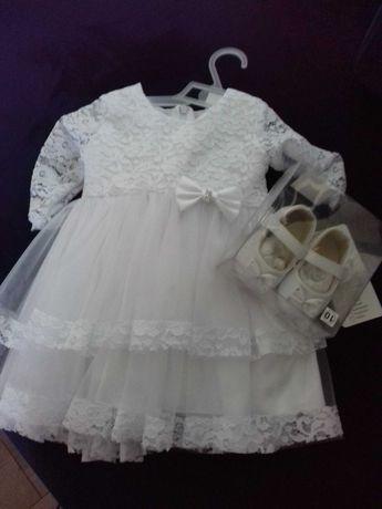 Sukienka do chrztu roz 68