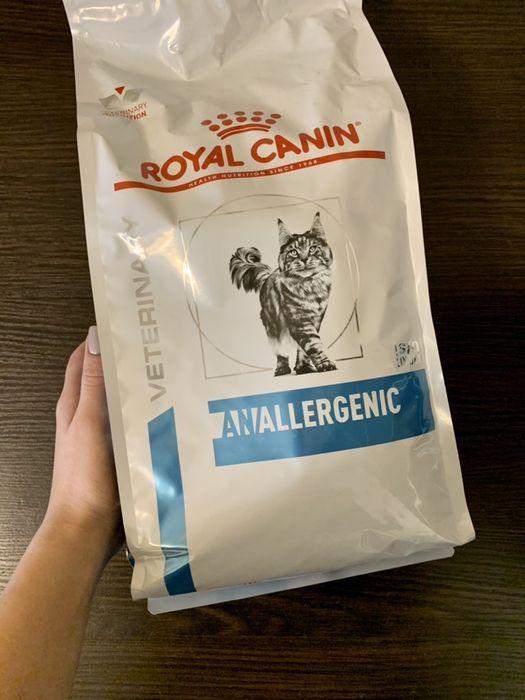 Royal Canin Anallergenic Cat 2кг - сухой корм для котов Степная - изображение 1