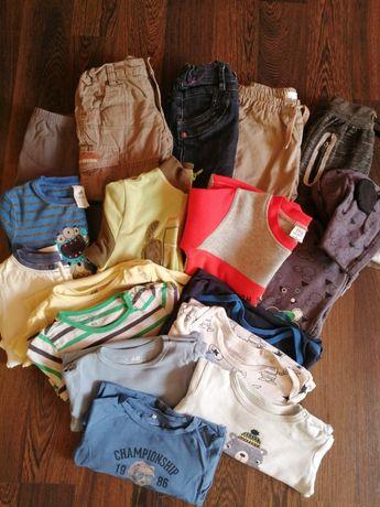 Zestaw,paczka ubrań dla chłopca r 92cm body, swetry, spodnie, bluza