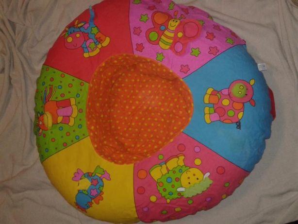 Развивающий надувной манеж, круг-гнездо-трон