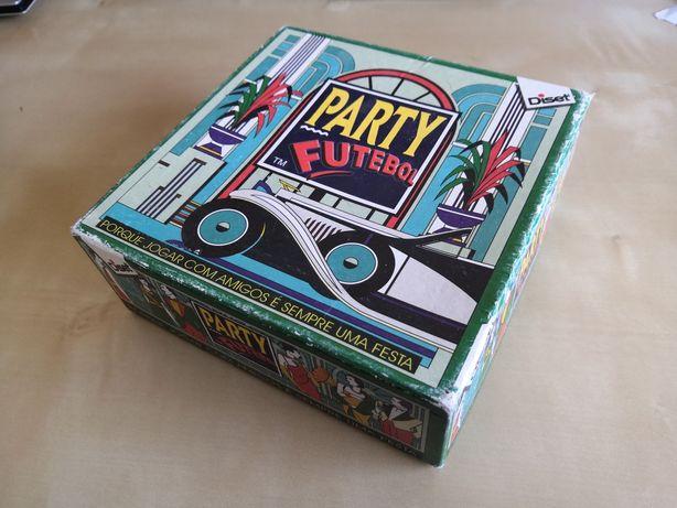 Jogo Tabuleiro Party Futebol - com tudo incluído - Diset - de 2003