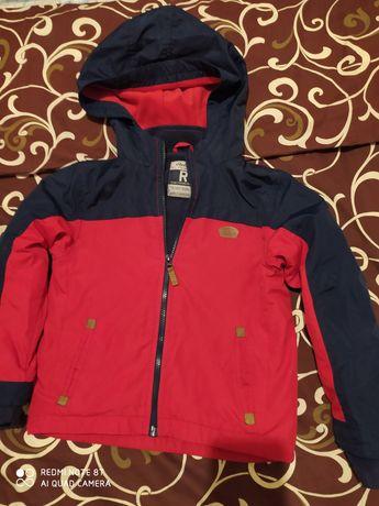 Демисезонная куртка ветровка рост 128