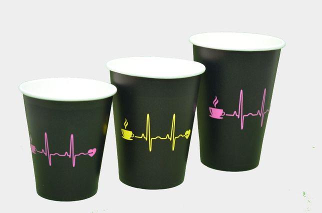 Одноразовые бумажные стаканчики для чая, кофе / паперові стаканчики