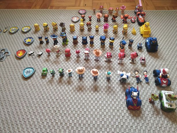 Coleção bonecos patrulha pata