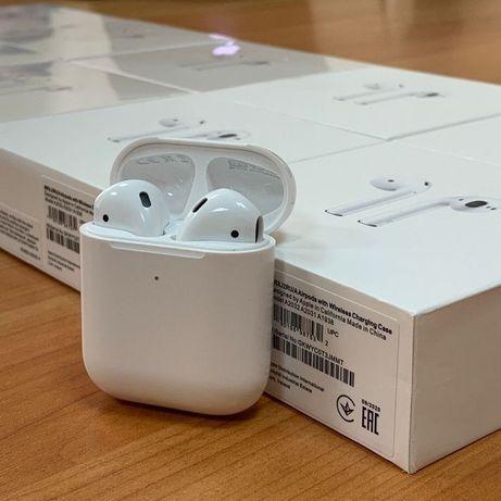 Apple AirPods 2/Беспроводнaя зaрядкa/Aир Подс/Беспроводные нaушники