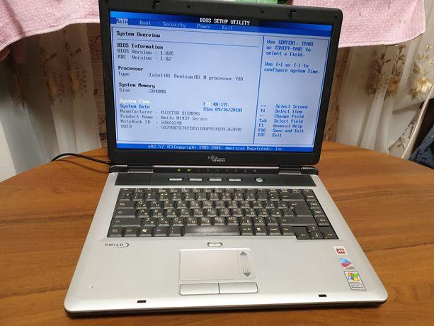 Ноутбук Fujitsu-Siemens Amilo M1437G на запчасти