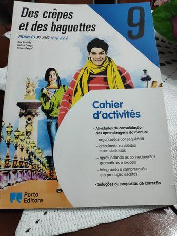 Caderno de atividades francês 9º
