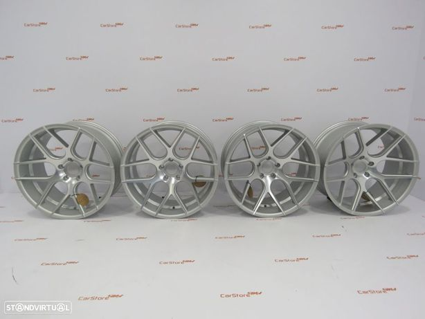 Jantes Haxer HX022 20 x 9+10 5x120 Silver Bmw Super concavo