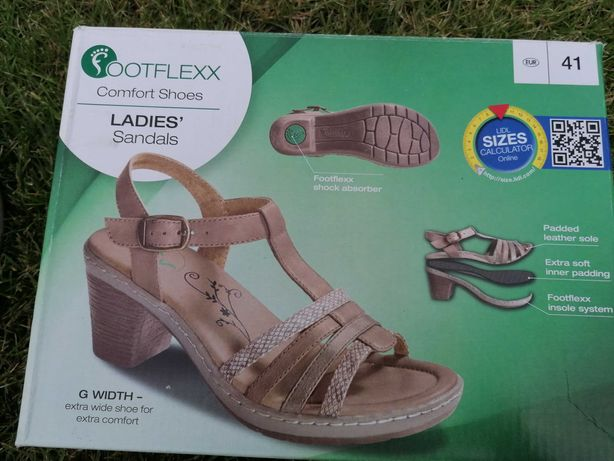 Sandały Footflexx z amortyzujaca podeszwą