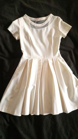 Sukienka wesele komunia vaniliowa
