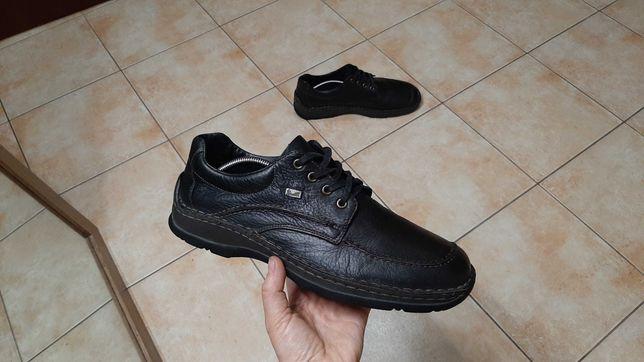 44р,28,5см,Кожаные ботинки,туфли Rieker (Рикер), отличное состояние