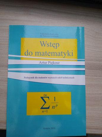 Wstęp do matematyki - Artur Piękosz