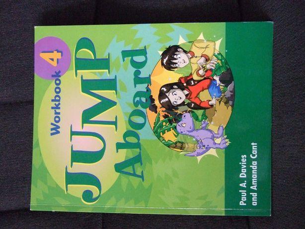 """Ćwiczenia do j.angielskiego - """"Jump Aboard 4 """" wydawnictwa Macmillan"""