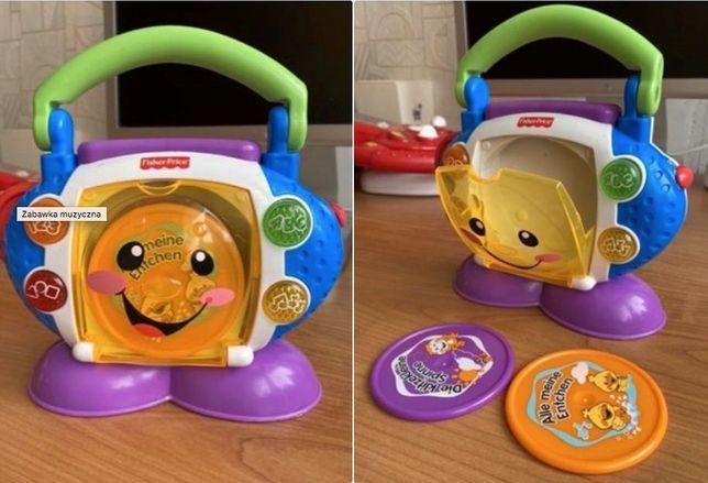 Zabawka muzyczny odtwarzacz plyt