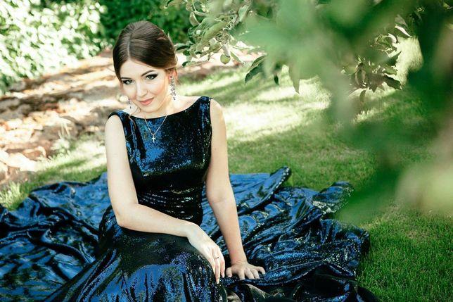 Вечернее( выпускное) платье Jovani в пол.