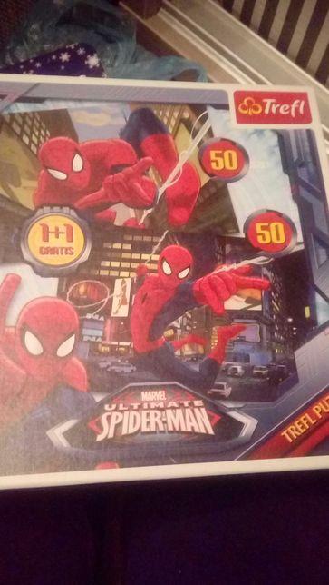 Puzzle spiderman 2×50