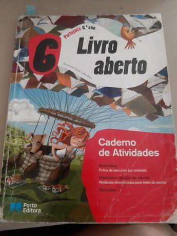 Caderno de atividades Português 6 ano