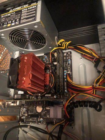 ПК 2,9MHz/ 8ГБ озу/ SSD 80Gb/Radeon 7000+ Монитор 19