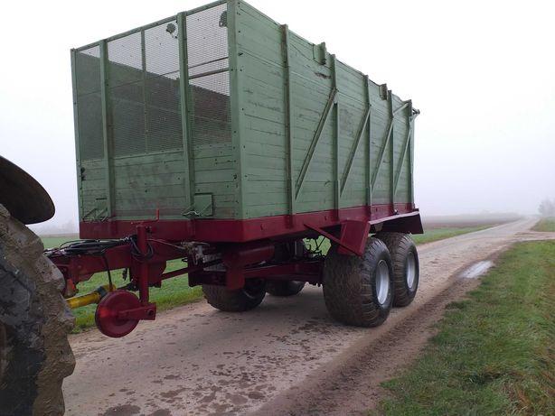 Przyczepa objętościowa do kukurydzy HAWE SLW 25 T, veenhuis