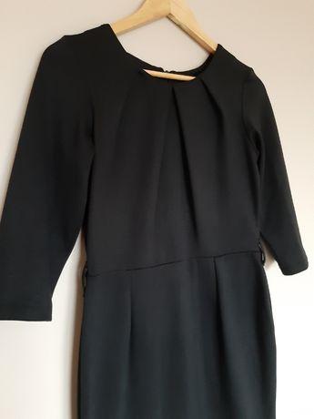 Sukienka 38 M midi małą czarna klasyk świąteczna