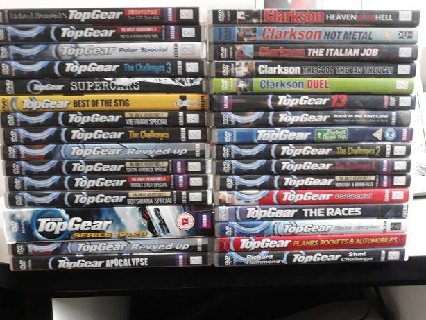 Top Gear + Clarkson 40 dysków DVD wersja angielska