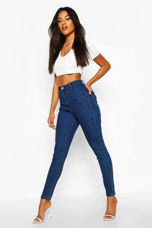 Новые джинсы BOOHOO Super High Wast , размер UK16
