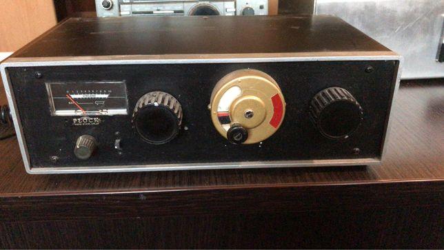 Skrzynka antenowa homemade z SWR, Yaesu, Icom