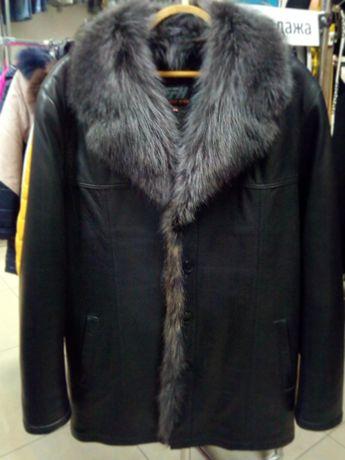 Продам новую мужскую зимнюю куртку с енотом