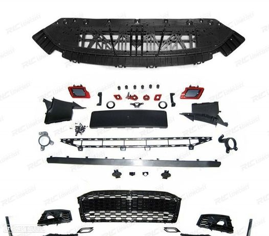 PARA-CHOQUES FRONTALAUDI A5 18- RS5 STYLE - BLACK PDC