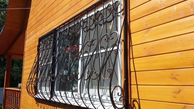 Решетки на окна, двери, балкон - Сварные, Кованые. Установим. Доставим