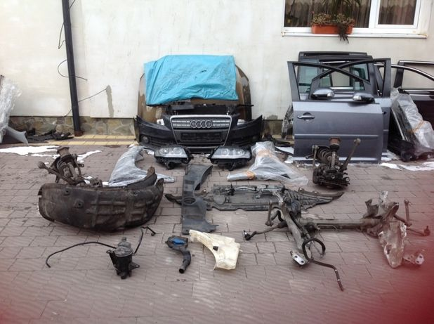 Передній бампер до AUDI A4 2008-2013