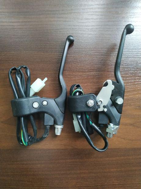 Тормозные ручки для детского электро квадроцикла с датчиком .