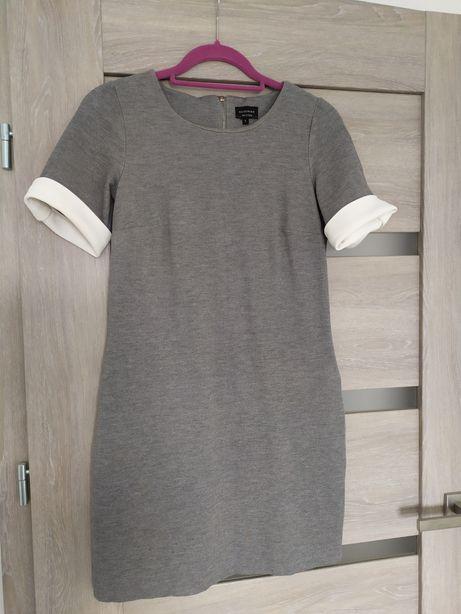 Sukienka tunika Reserved szara rozm XS/S