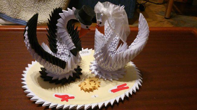 Origami modułowe, prezent na urodziny ślub
