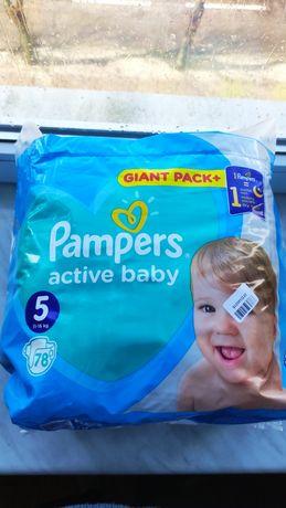 Підгузники Pampers Active baby 5, 11-16 кг, 62 шт., Польща