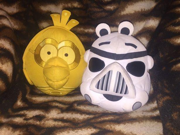 5 pluszaków przytulanek Angry Birds