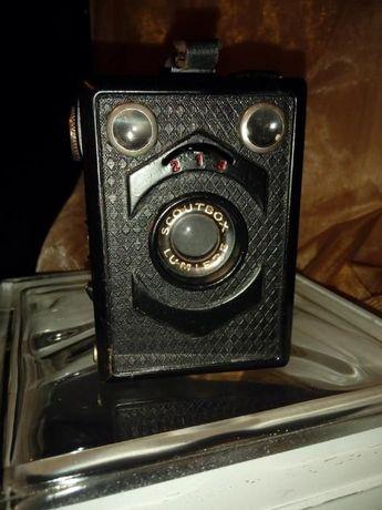 "Máquina fotográfica vintage "" Lumiere Scoutbox"""
