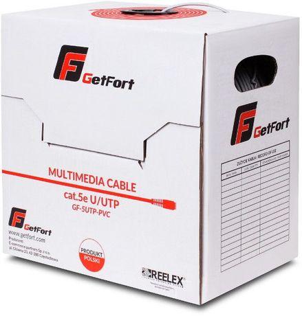Kabel Teleinformatyczny GETFORT KAT.5E U/UTP PVC Eltrox Radom