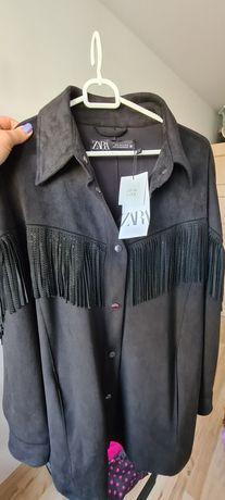 Nowa z metką kurtka koszulowa ZARA