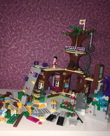 Lego Friends Спортивный лагерь Дом на дереве 41122 Детали