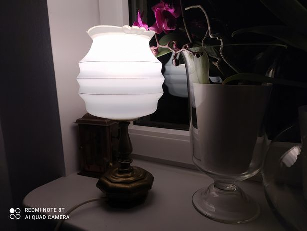 Stara lampa, wys 32cm