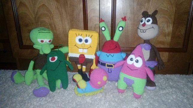 Набор игрушек спанч-Боб квадратные штаны