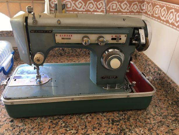 Máquina de costura Flower - portátil