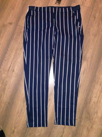 Spodnie w paski rozmiar 46