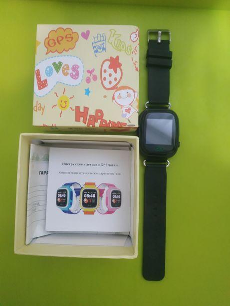 Детские смарт часы GPS Tracker Q100(black