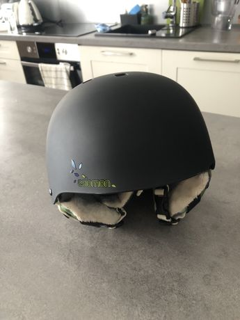 Kask narciarski Salomon Venom Black Matt XS
