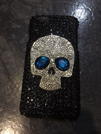 Чехол бампер череп на IPhone 6s
