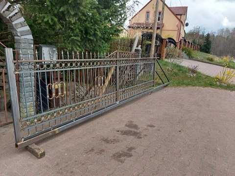brama wjazdowa  do ocynku