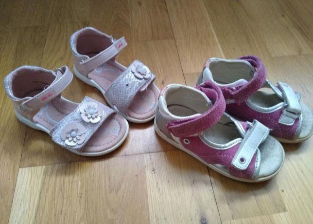 Buciki sandały rozmiar 21 dla dziewczynki