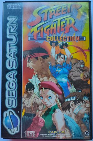 Street Fighter Collection (Sega Saturn)